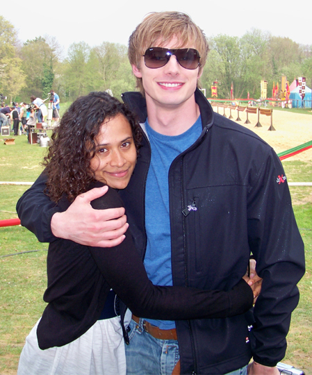 bradley james and angel coulby dating 2015