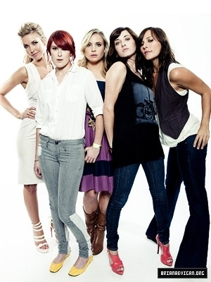 "Briana Evigan and the cast of ""Sorority Row"""