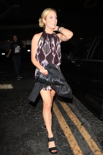 Brittaney leaving Bardot Nightclub