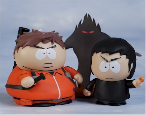 Cartman and Damien Toys