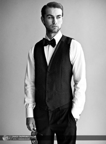 Chace Crawford Alexi Lubomirski PhotoShoot outtakes