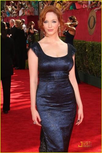 Christina Hendricks @ the 2009 Emmy Awards