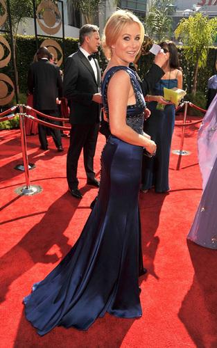Christina @ the 2009 Emmy Awards