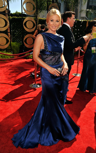 Christina @ the 2009 Emmy Awards