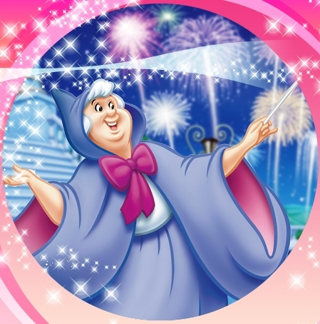 Cinderella wallpaper titled Cinderella's Fairy Godmother