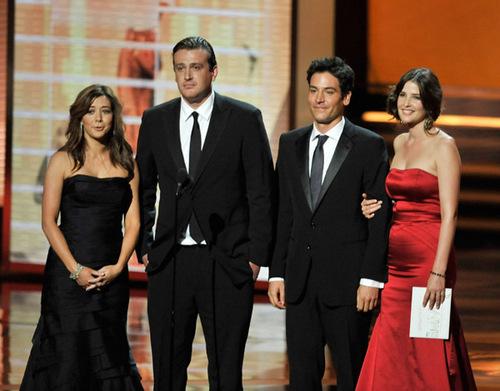 Cobie - Presenting an Emmy