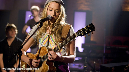 Colbie Caillat on Soundcheck