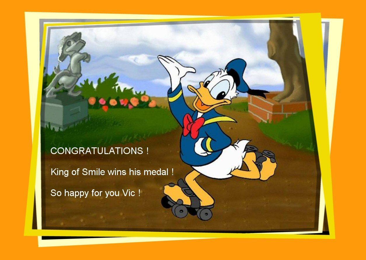 Congrats Vicky !