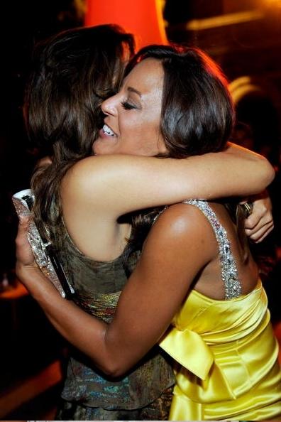 Cote and Eva La Rue 2009 Alma Awards