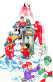 DC comics Holiday Special 2009