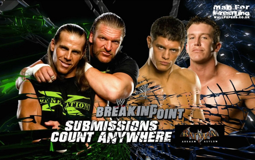 DX vs Cody Rhodes and Ted Dibiase