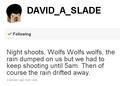 David Slade Twitt Updates - twilight-series photo