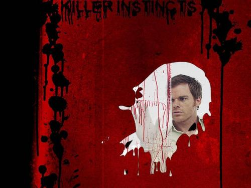 Dexter wallpaper with a sign entitled Dexter Morgan