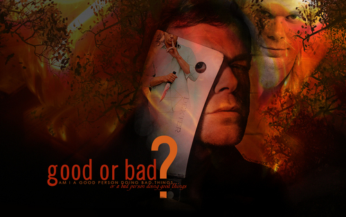 Dexter wallpaper titled Dexter Morgan