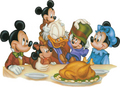 ディズニー Thanksgiving
