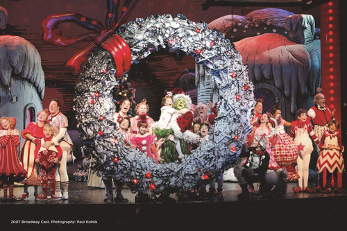 Dr. Seuss' HOW THE GRINCH چرا لیا, چوری کی CHRISTMAS!The Musical at The Pantages Theatre 11/10/09-1/03/10