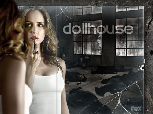 Dollhouse wallpaper probably with a portrait entitled Echo
