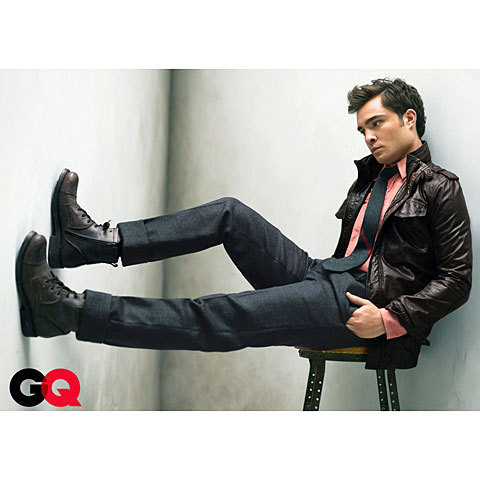 Ed Westwick hình nền containing a business suit, a well dressed person, and a suit called Ed Westwick