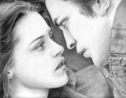Edward and Bella Twilight...It's not a Photo! Just make it bigger for knowing madami about it!