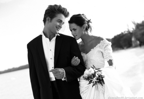Edward and Bella's Wedding Day!