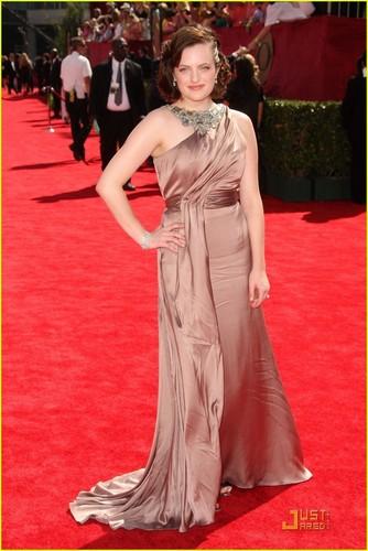 Elisabeth @ the 2009 Emmy Awards