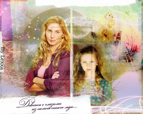 Lost fond d'écran with a portrait entitled Elizabeth Mitchell