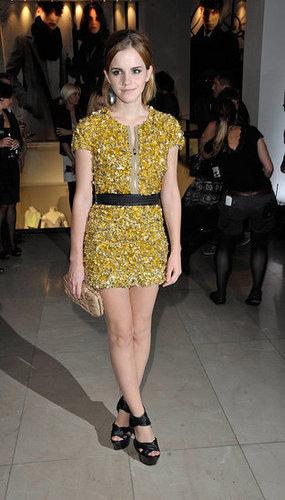 Emma at london Fashion Week