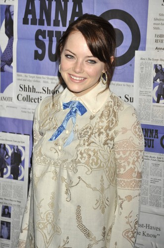 Emma @ the Anna Sui For Target Pop-Up Store Launch Party