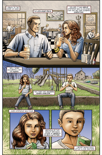 FEMALE FORCE: Stephenie Meyer - Comic Book (First pages)