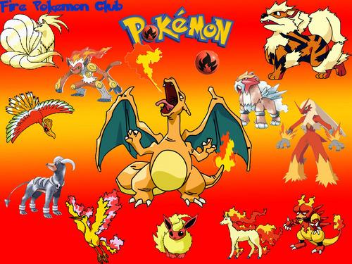 fogo Pokemon wallpaper
