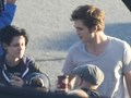"From today's set - Robsten (""Just the two of us"") - twilight-series photo"