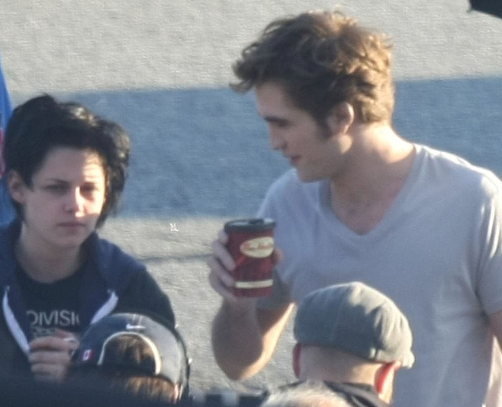 """From today's set - Robsten (""""Just the two of us"""")"""