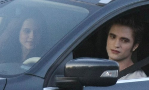 "From today's set - Robsten (""Just the two of us"")"