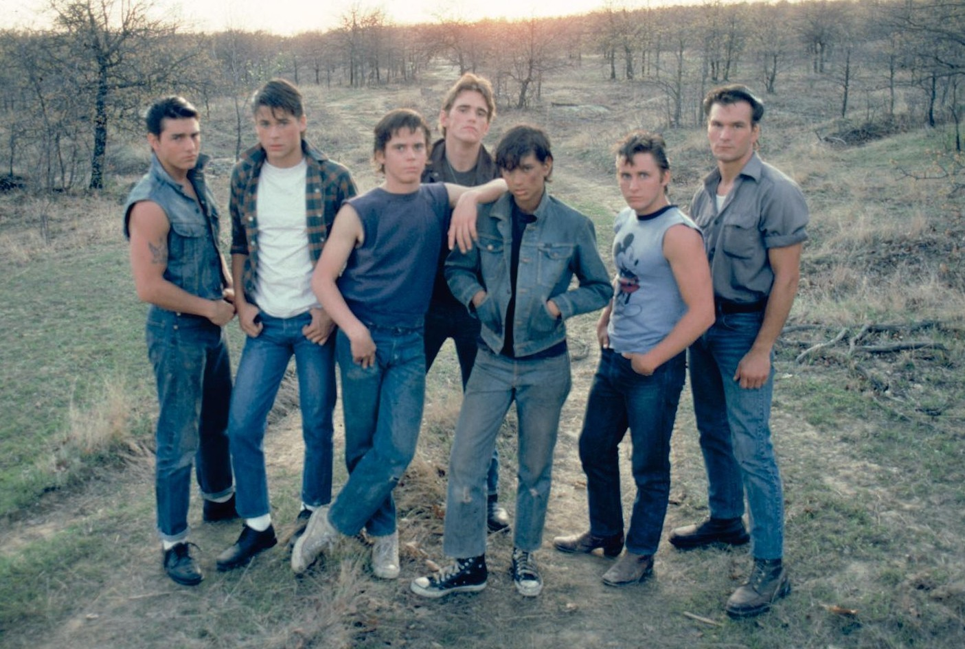 Sources: The Outsiders, Behind the Scenes & American Icons ; Image ...