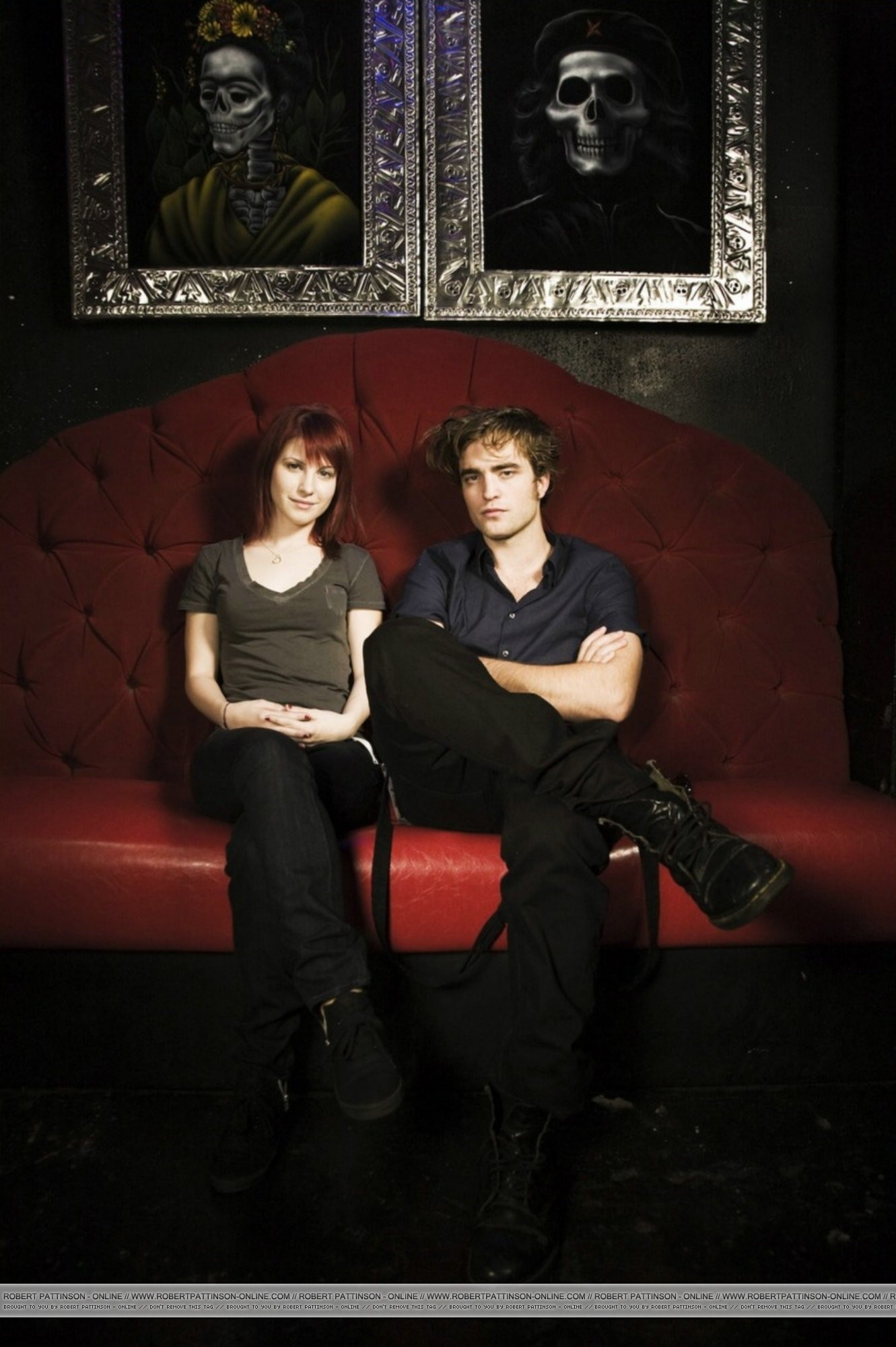 HQ Unknow Photoshoot of Rob with Hayley