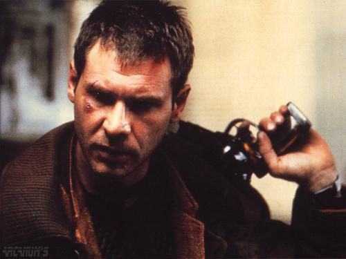 Harrison Ford as Deckard in Bladerunner