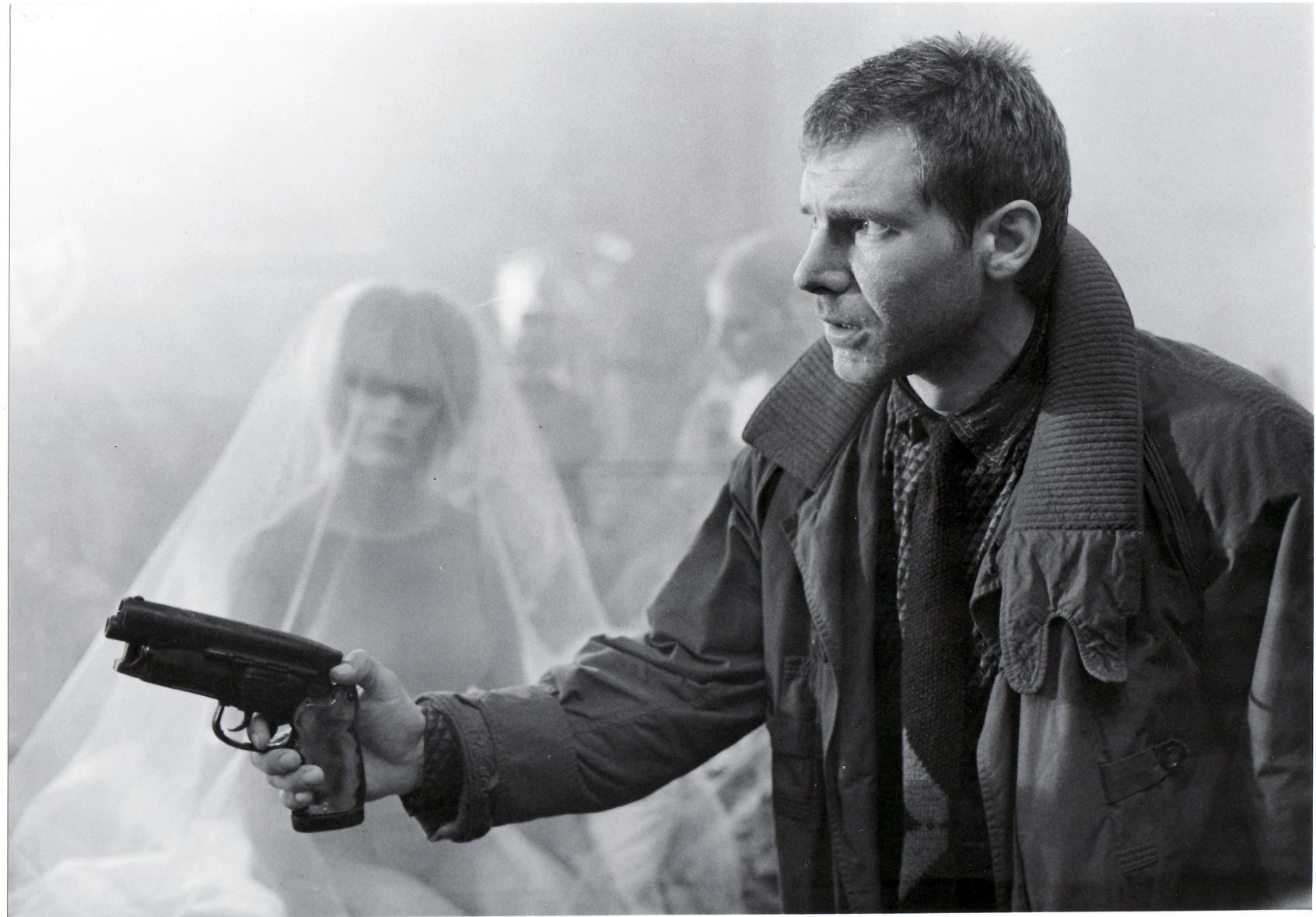 6 Most Badass Bounty Hunters in Film History Blade Runner Deckard Harrison Ford
