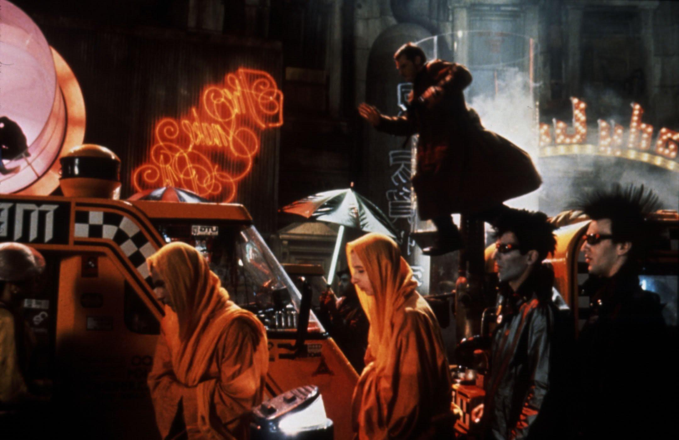 Harrison  Ford As  Deckard In  Bladerunner Blade Runner