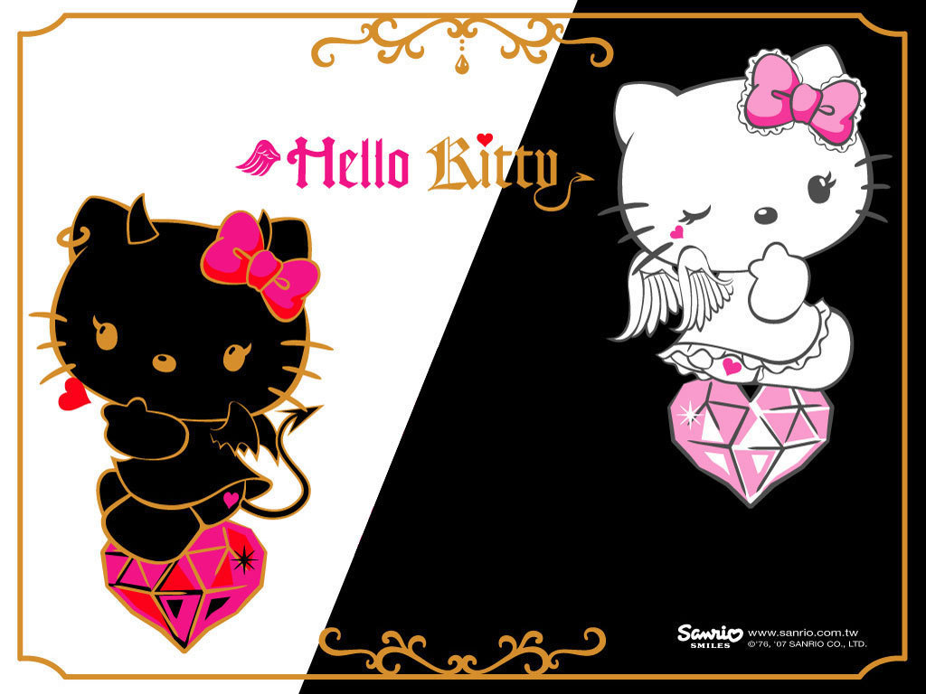 devil hello kitty wallpaper - photo #1
