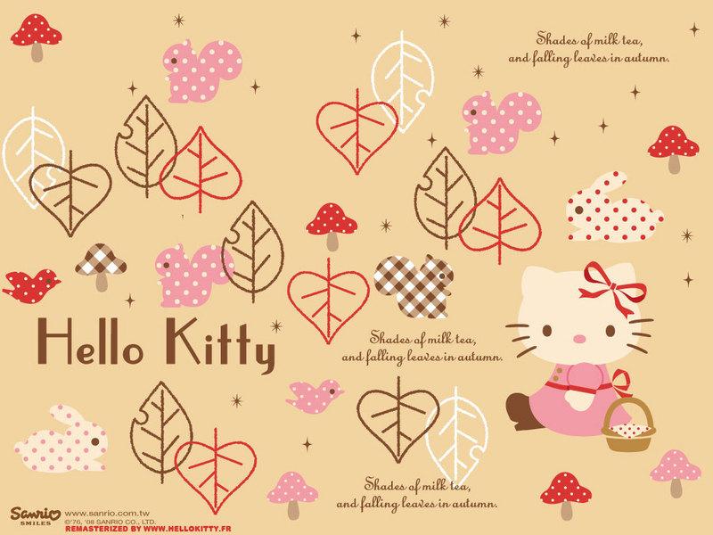 wallpaper hello kitty. Hello Kitty Wallpaper