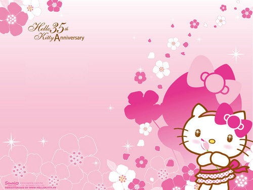 Hello Kitty wallpaper called Hello Kitty Wallpaper