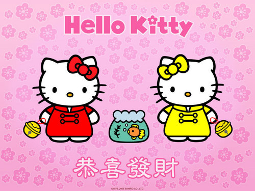 Hello Kitty wallpaper possibly with anime called Hello Kitty Wallpaper