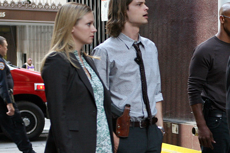 Criminal Minds wallpaper with a business suit and a street titled JJ <3
