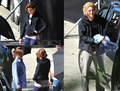Jackson get injured on Eclipse set - ice on hand (some tough action out there!) - twilight-series photo