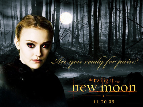New Moon wallpaper probably with a sign entitled Jane