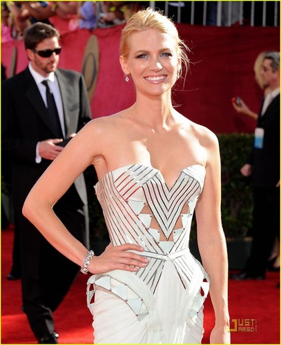 January Jones - Emmy Awards 2009