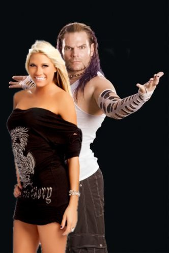 Jeff Hardy and Kelly Kelly