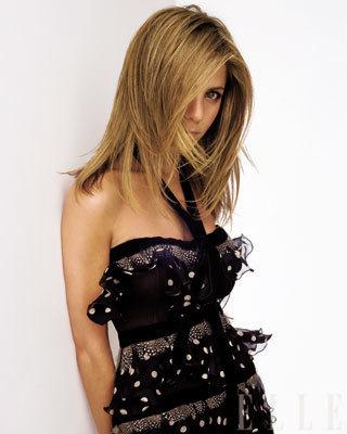Jennifer Aniston in Elle Magazine