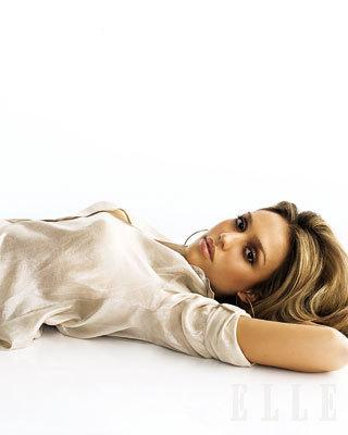Jessica Alba in Elle Magazine
