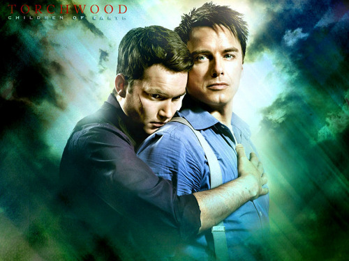 John &amp; Ianto - john-barrowman Wallpaper